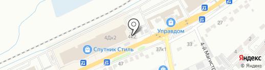 Дом Каминов на карте Белгорода