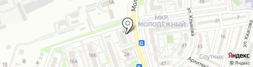 Три Короны на карте Белгорода