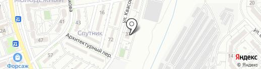 Белгородстроймонтаж, ЗАО на карте Белгорода