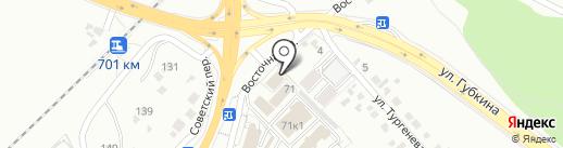 МТК на карте Белгорода