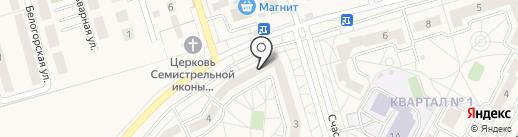 Мозайка на карте Дубового