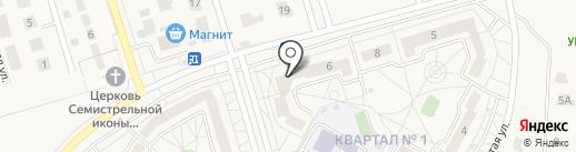 Белветклиник на карте Дубового