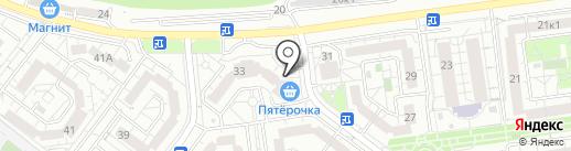 Спор База №1 на карте Белгорода