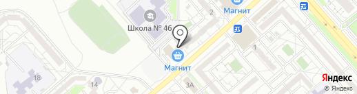 Магазин детского питания на карте Белгорода
