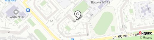 Светлячок на карте Белгорода