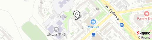 Библиотека №10 на карте Белгорода