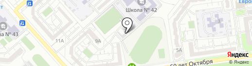 Белгородспецснаб на карте Белгорода