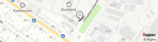 Зенон-Рекламные Поставки на карте Белгорода