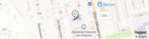 Детский сад №21 на карте Северного