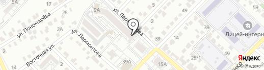 ТМ на карте Белгорода