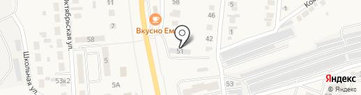 Шиномонтажная мастерская на карте Северного