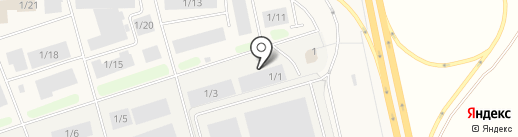 Верона на карте Северного