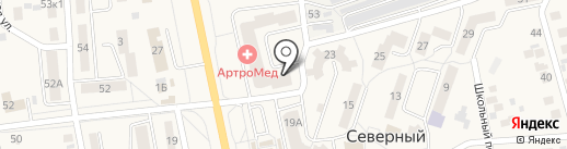 Амрита, ЗАО на карте Северного