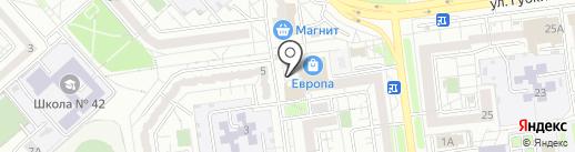 Трактир Сафрон на карте Белгорода