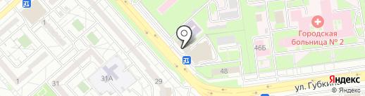 Клубника на карте Белгорода