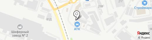 Надежда-Фарм, ГК на карте Белгорода