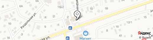Галатея на карте Дубового