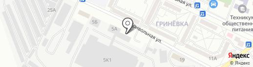 Белгородский молочный комбинат на карте Белгорода