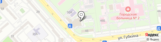 Renault на карте Белгорода
