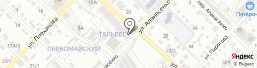 Prof-флаг на карте Белгорода