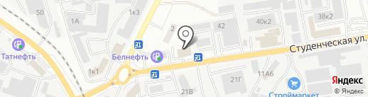 СТО 44 на карте Белгорода