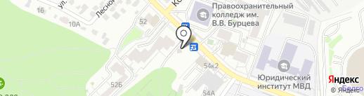 Бургер Мир на карте Белгорода