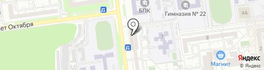 ВосСтрой на карте Белгорода