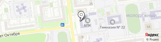 Белгородский педагогический колледж на карте Белгорода