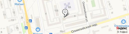 Многофункциональный центр предоставления государственных и муниципальных услуг Белгородского района, МАУ на карте Северного