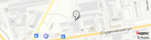 Дизайникс на карте Белгорода