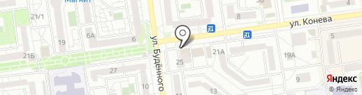 Ремонтная мастерская на карте Белгорода
