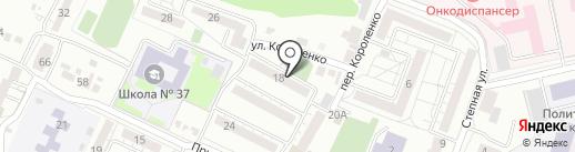 Стоматологическая поликлиника №1 на карте Белгорода