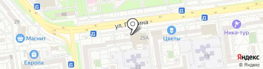 Модная тема на карте Белгорода