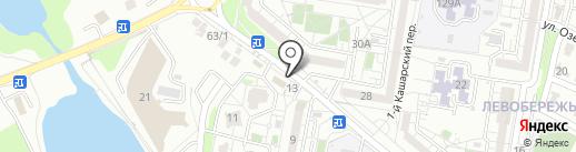 Люкс на карте Белгорода