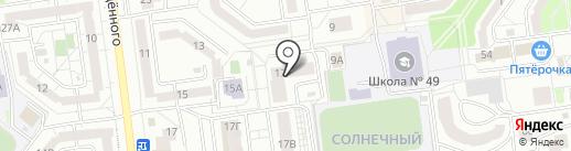 Хмельная бочка на карте Белгорода