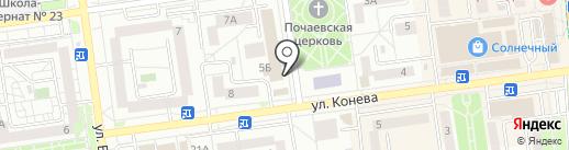 Бобёр на карте Белгорода