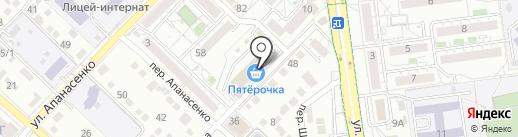 Тата на карте Белгорода