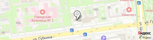 Ле`Муррр на карте Белгорода