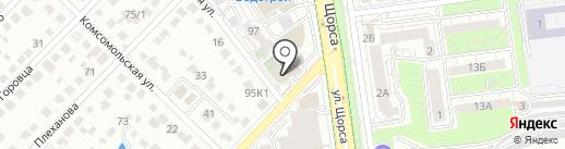 Академия речи на карте Белгорода