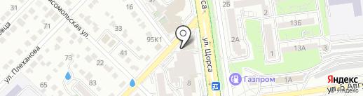 Lash Up на карте Белгорода