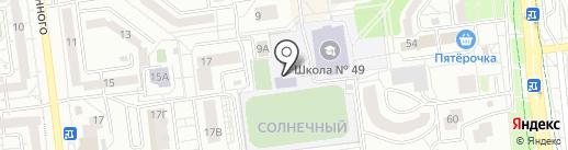 Библиотека №17 на карте Белгорода