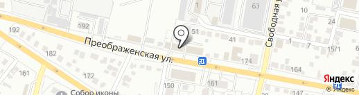 БелПринтСервис на карте Белгорода