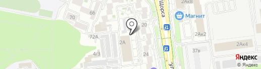 Городок на карте Белгорода