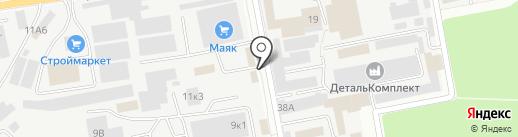 Техмашснаб на карте Белгорода