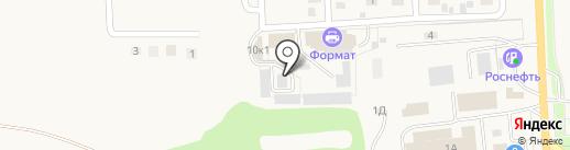 Огневая точка на карте Дубового