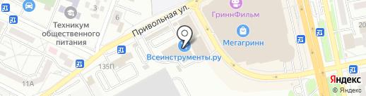 Квадрат на карте Белгорода