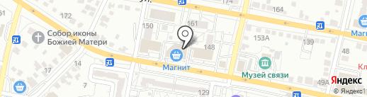 Автопицца Моко на карте Белгорода
