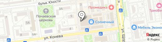 Радуга+ на карте Белгорода