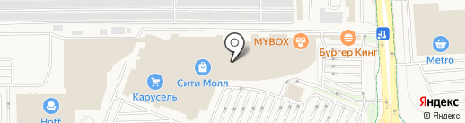Унция на карте Белгорода