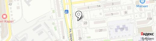 Медицинский гардероб на карте Белгорода